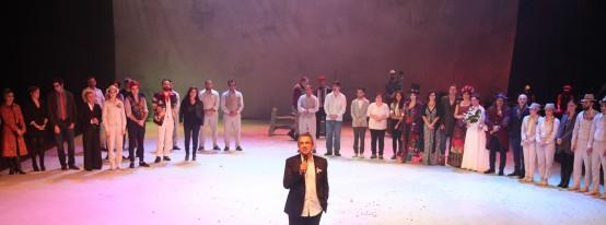 '12. Gece'nin galası Harbiye Muhsin Ertuğrul Sahnesi'ndegerçekleştirildi.