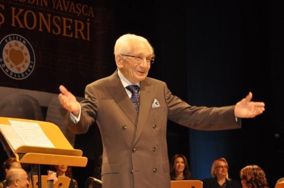 Prof. Dr. Alâeddin Yavaşca 90 yaşında konser verdi