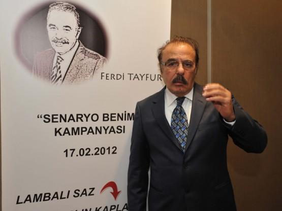FERDİ TAYFUR BASIN TOPLANTISI