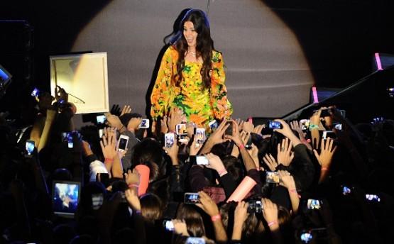 Lana Del Rey'i İstanbul'da 15 bin kişi izledi!