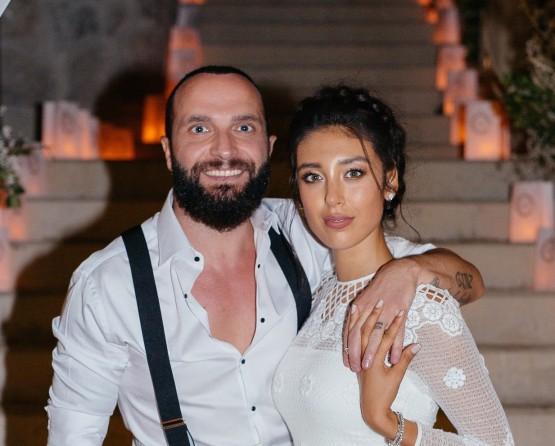 Berkay & Özlem Ada çiftinin düğününe ünlü yağdı!