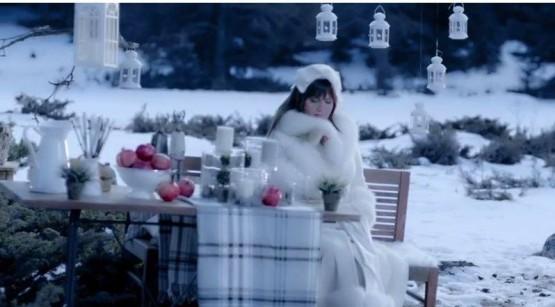 Sibel Can 'Kış Masalı'na Kartalkaya'da klip çekti!