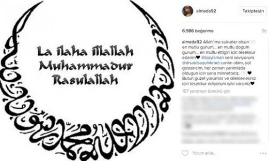 Tolgahan Sayışman & Almeda Abazi evlendi