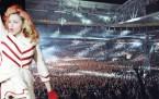 Madonna İstanbul'da 50 bin kişiyi coşturdu