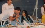 Uçankuş'un iftar yemeği Diva'nın elini öpme yarışı