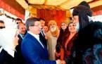 Başbakan Davutoğlu, Diriliş setini ziyaret etti