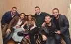 Galatasaraylı futbolcular Tilbe'yi ziyaret etti!