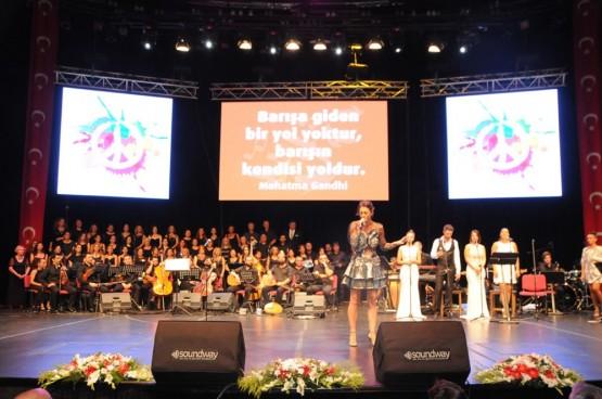 8. Sarıyer Festivali'nde Şarkılar Barış İçin Söylendi