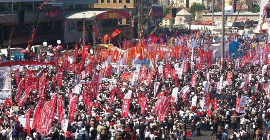 1 Mayıs İşçi Bayramı tüm yurtta coşkuyla kutlandı
