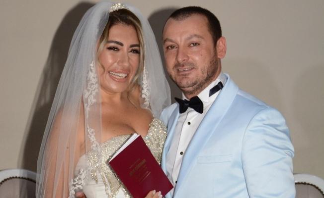 Nil Karataş, yıldırım nikahı ile evlendi