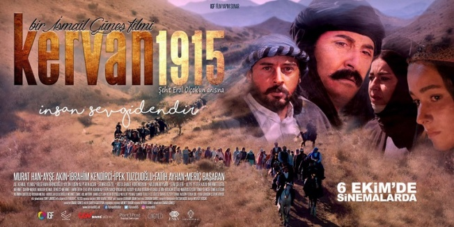 Ermeni tehcirini konu alan 'Kervan 1915' görücüye çıkıyor!