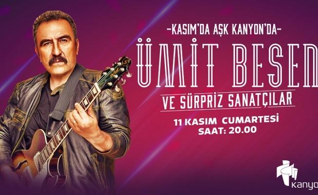 """Ümit Besen'den ücretsiz halk konseri: """"Kasım da aşk başkadır"""""""