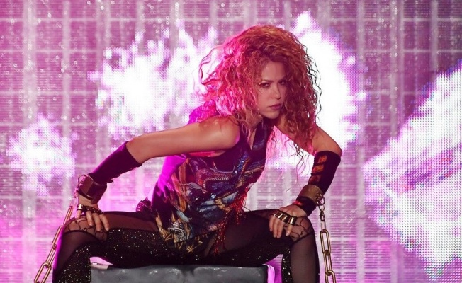 Shakira İstanbul'u salladı
