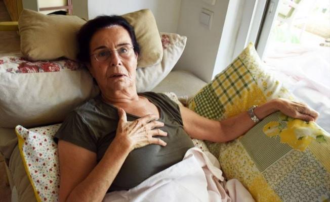 Fatma Girik evinde düştü