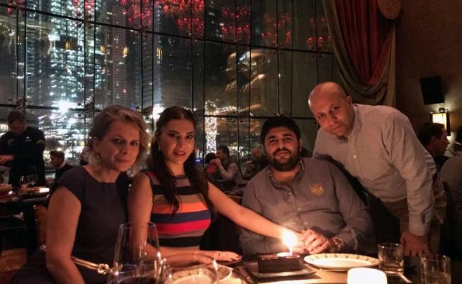 Ebru Yaşar'dan eşine doğum günü hediyesi; Dubai tatili !