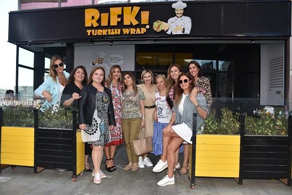 Cemiyet dünyası Rıfkı Turkish Wrap'ta buluştu!