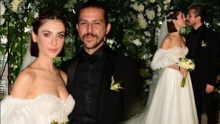 Fulya Zenginer ve Küntay Tarık Evren evlendi