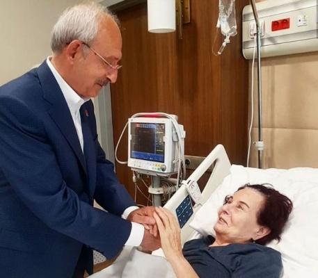 Kemal Kılıçdaroğlu Fatma Girik'i ziyaret etti
