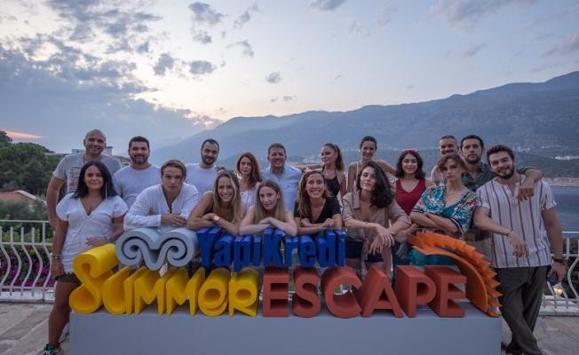 """""""Yapı Kredi Summer Escape"""" yaz festivallerinin son durağı Antalya Kaş oldu."""