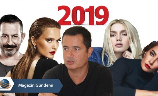 2019 yılı Magazin ve Sanat Dünyasında böyle geçti