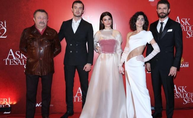 """""""Aşk Tesadüfleri Sever 2"""" in Galası İstanbul'da gerçekleşti"""