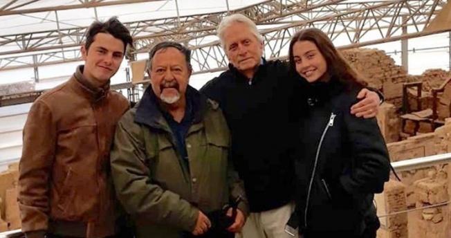 Michael Douglas İstanbul'un ardından Efes'i gezdi