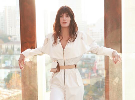 Pınar Soykan asansörde klip çekti