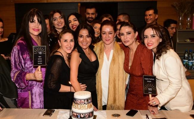 Asuman Dabak'a renkli doğum günü partisi