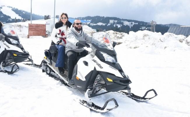 Berkay Uludağ'ta Kar Trophy yaptı