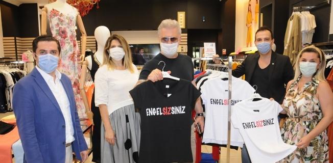 Tamer Karadağlı Engelsiz Yaşam için mağaza turu yaptı