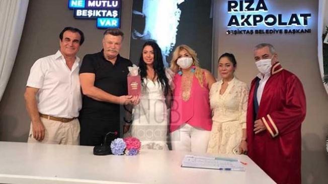 Nuri Alço kendisinden 33 yaş  küçük sevgilisiyle evlendi