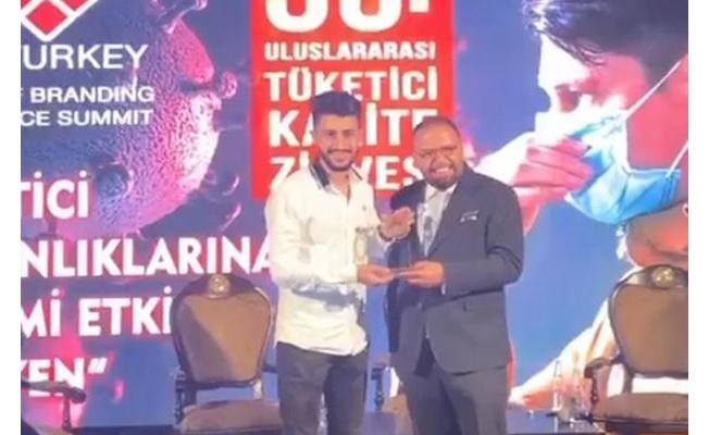 Yunus Sedat Aydın Dijital Medya Uzmanlığı Ödülü'ne lâyık görüldü