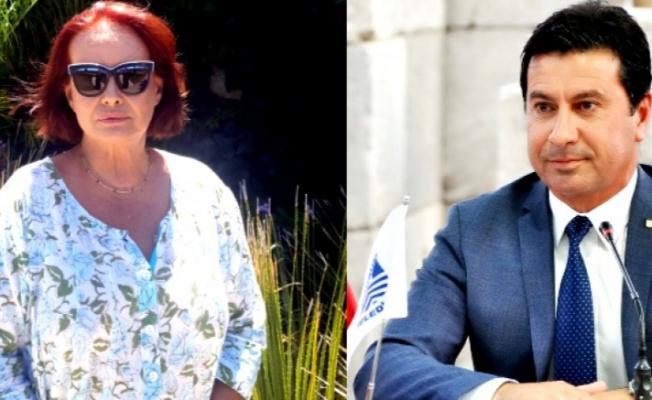 Müjde Ar, Bodrum Belediye Başkanı Ahmet Aras'ı mahkemeye verdi