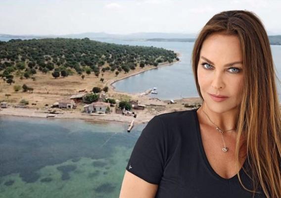 Hülya Avşar 55 milyona ada satın aldı