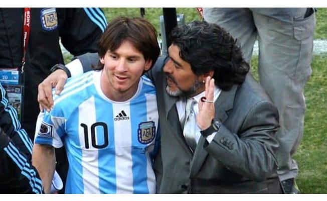Maradona'nın ardından ...