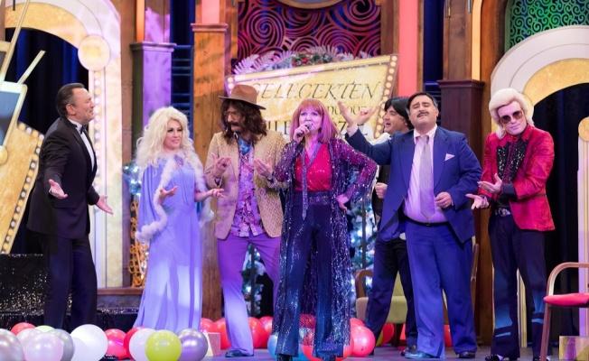 Gülden Karaböcek Yılbaşı akşamı Show Tv'de 'Güldür Güldür Show'da !