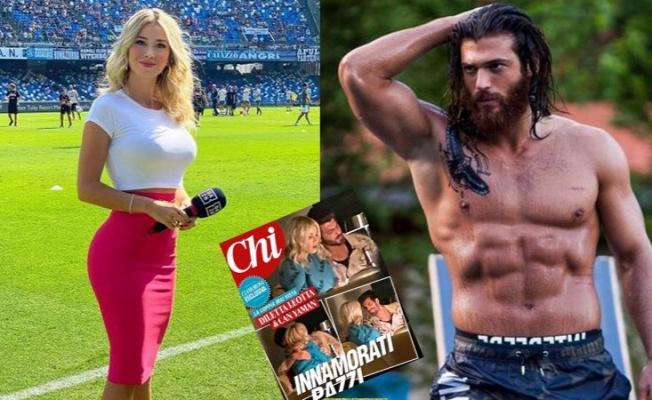 Can Yaman, İtalyan spor spikeri Dilette Leotta ile görüntülendi