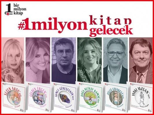 Gülben 'den 1 Milyon Kitap Projesine destek!
