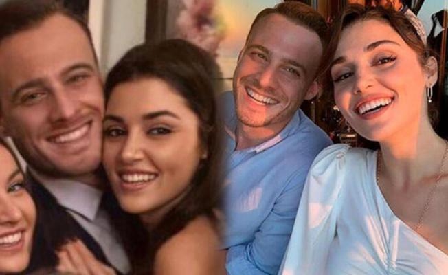 Hande Erçel ile Kerem Bürsin'den aşk iddialarını kuvvetlendiren fotoğraf
