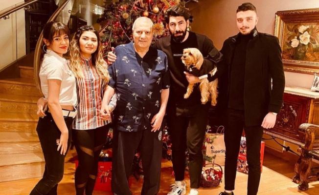 Mehmet Ali Erbil 2021'e şömine başında girdi