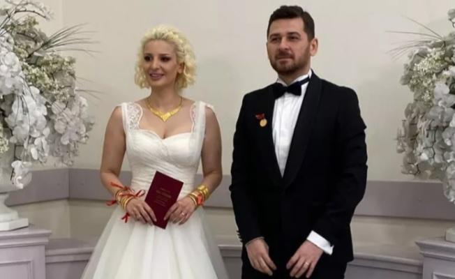 Şarkıcı Gökçe Kırgız ve Yılmaz Taner evlendi