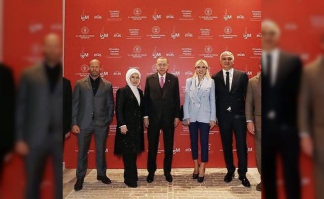 Hollywood yıldızı Jason Statham Cumhurbaşkanı Erdoğan ile görüştü