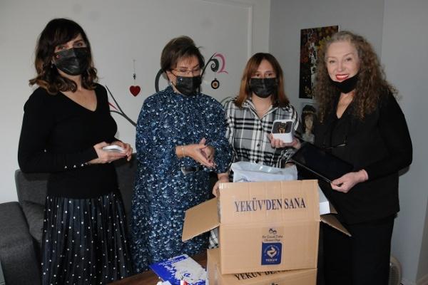 Suzan Kardeş'ten YEKÜV'e destek