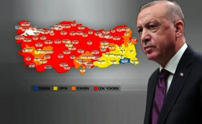 Erdoğan 58 il için kötü haberi verdi! Kısıtlamalar geri geldi