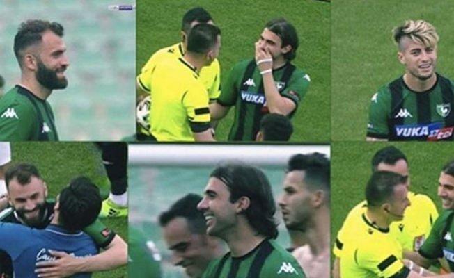 Küme düşen Denizlispor'lu futbolcuların gülmesi herkesi şaşırttı!