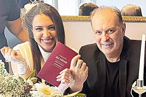 Burak Sergen ve Nihan Ünsal evlendi