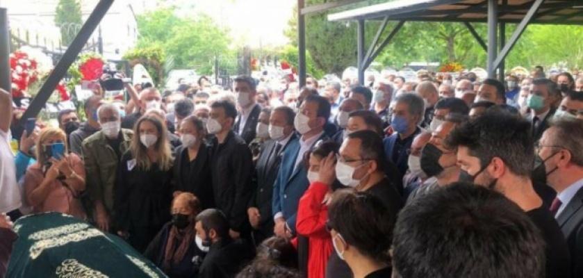 Hasan Saltık İstanbul da son yolculuğuna uğurlandı