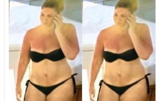 Sibel Can yıllar sonra bikinili görüntülendi