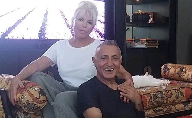 Süperstar Ajda Pekkan, Mehmet Yüzüak'ı evinde ağırladı