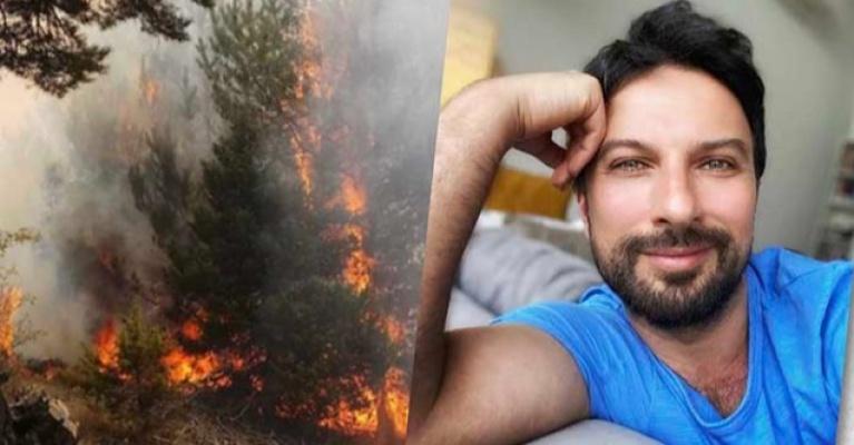 Tarkan'dan yangın bölgelerine büyük yardım